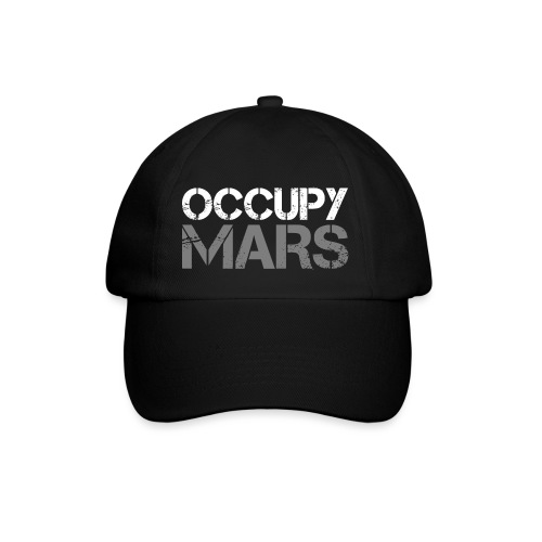 occupyMarsWhite - Baseball Cap