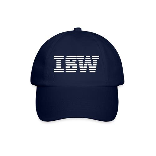 iswlogo wit - Baseballcap