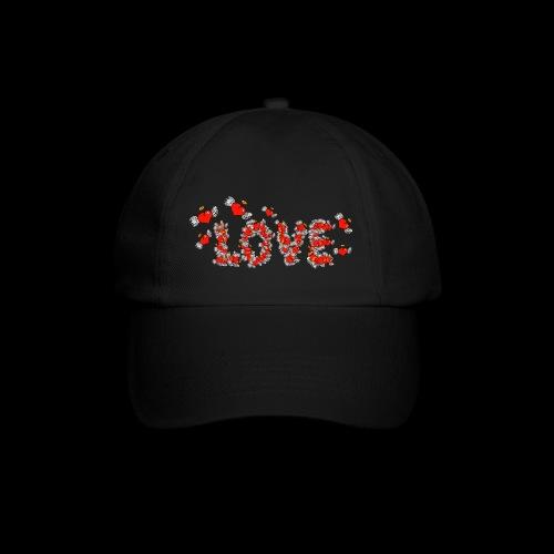 Flying Hearts LOVE - Baseball Cap