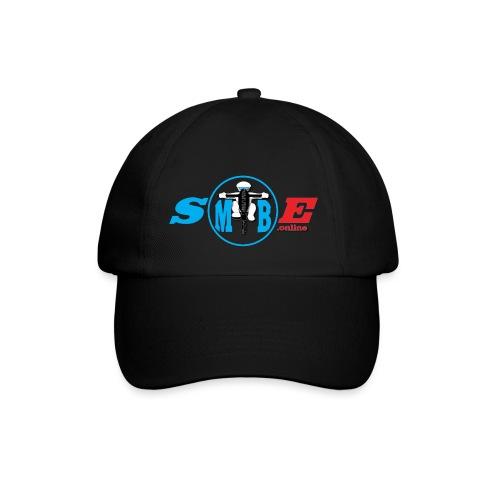 SMTBE biker logo DECAL red big - Baseball Cap