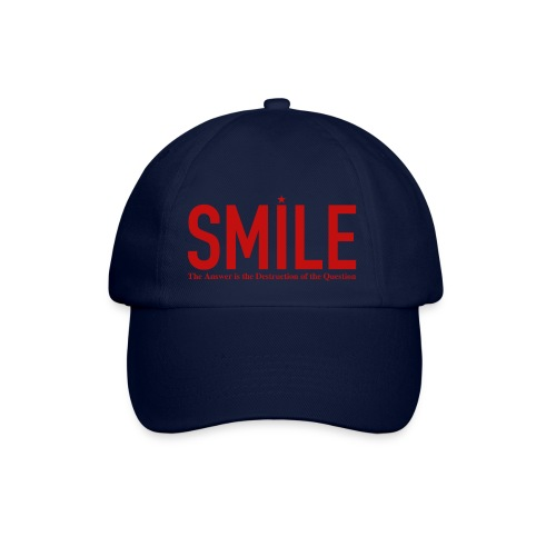 smile red star - Baseballkappe