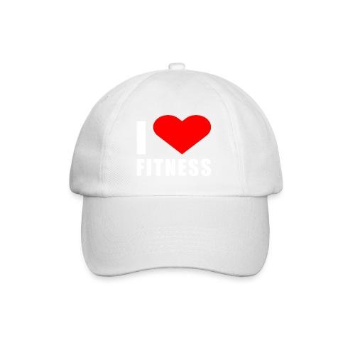 I LOVE FITNESS - Baseballkappe