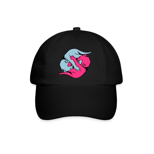 Yin and Yang Kitties - Baseball Cap