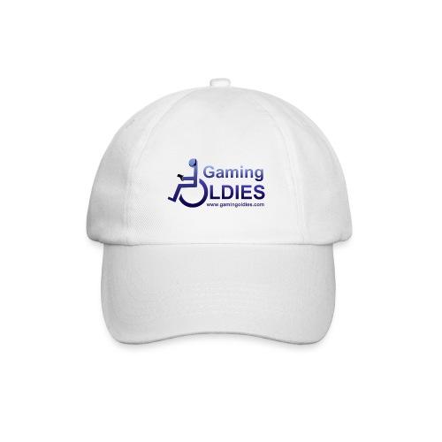 Gaming OldiesV4Merchandise copy png - Baseball Cap