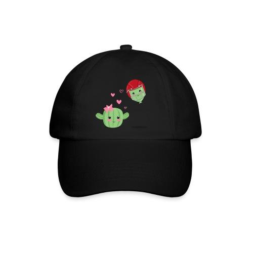 Cactus y Globo, amor - Gorra béisbol