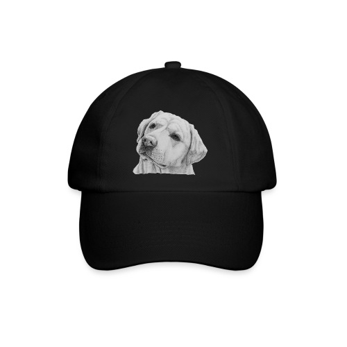 labrador retriever yellow - head - Baseballkasket
