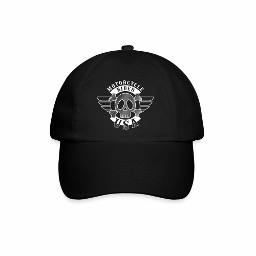 Motorcycle Rider USA 'Wing' - Casquette classique