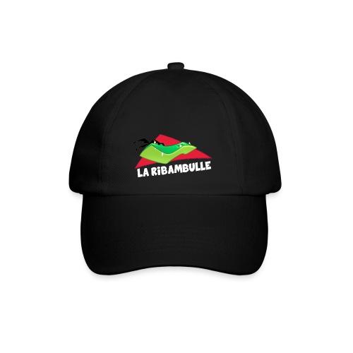 laRibambulle logoHD blanc png - Casquette classique