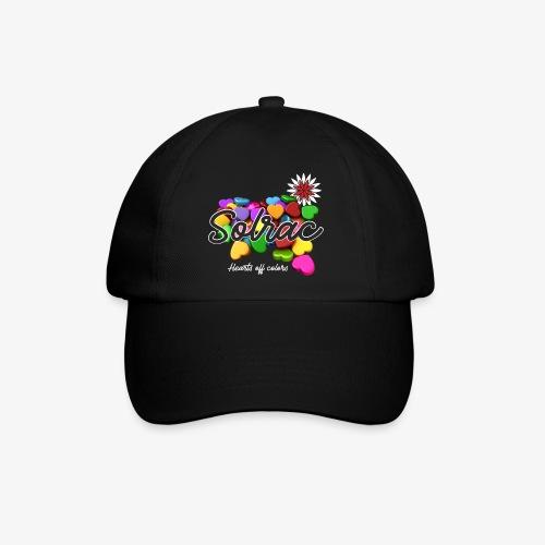 SOLRAC Hearts black - Gorra béisbol