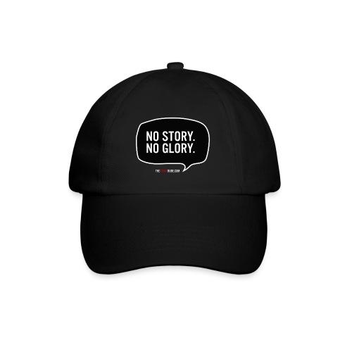 No Story. No Glory. Sprechblase - Baseballkappe