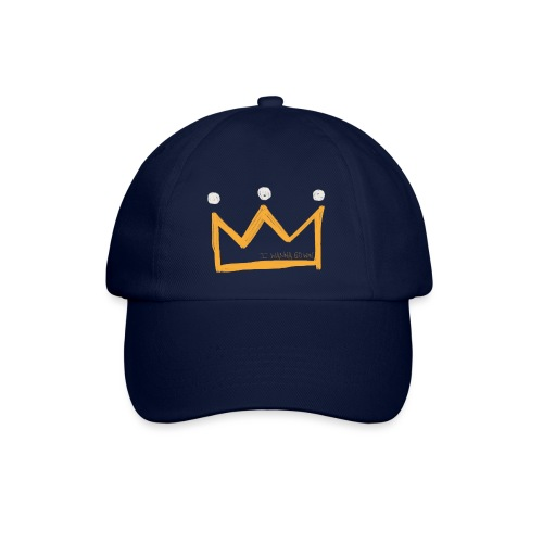 I Wanna Go Win Crown - Shadow - Baseball Cap
