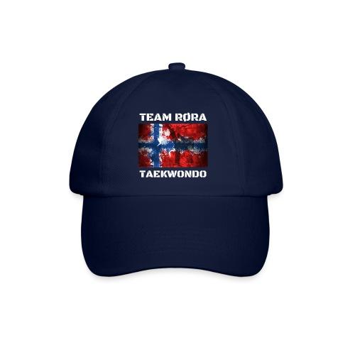 TEAM RØRA White png - Baseballcap