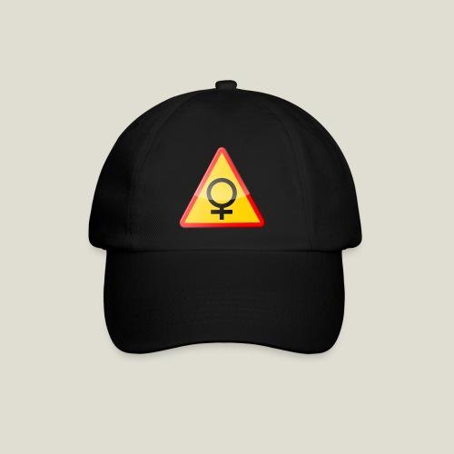 Varning för kvinna! Warning - woman! - Basebollkeps