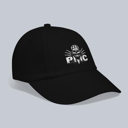 PMC Skull white - Baseballkappe