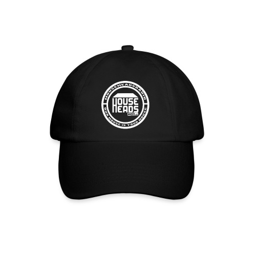 HouseHeadsRadio NEW LOGO 2 - WHITE - Baseball Cap