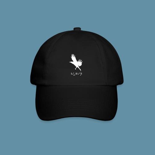 Logo Hugin line white png - Cappello con visiera
