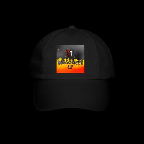 Waschbeer Design 2# Mit Flammen - Baseballkappe