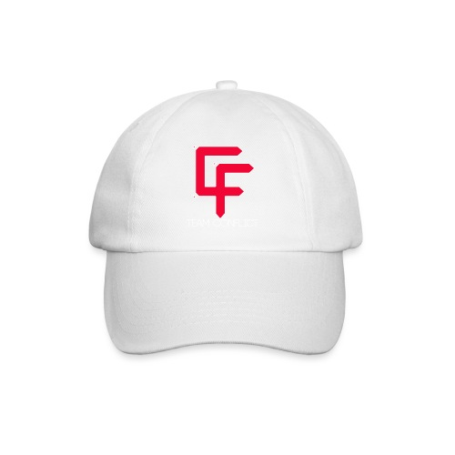 CF Final White Border t shirts with text thin whit - Baseball Cap