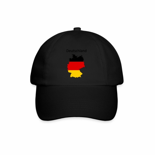 Deutschland Karte - Baseballkappe