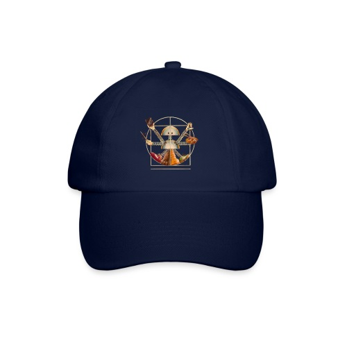 Sam_the_Robot – Vitruvian Design - Baseball Cap