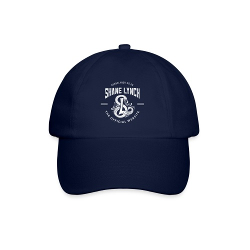 White - Shane Lynch Logo - Baseball Cap