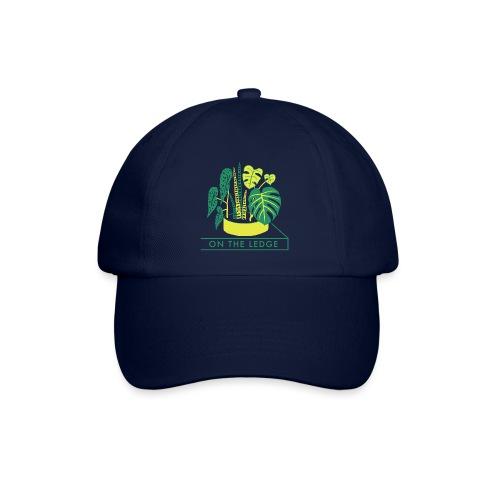 On The Ledge green logo print - Baseball Cap