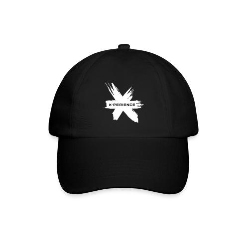 x-perience Logo weiß - Baseballkappe