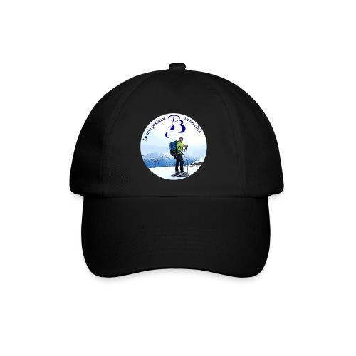 Logo cartone ciaspole - Cappello con visiera