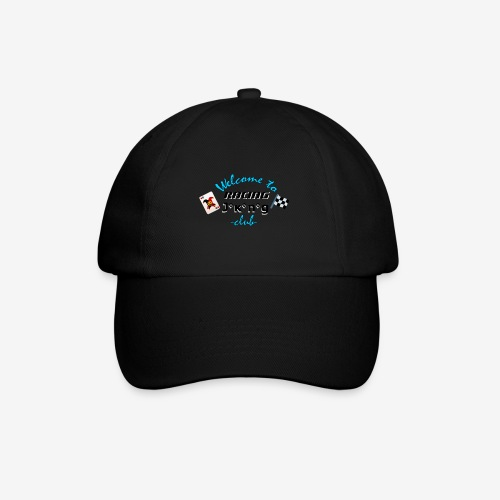 welcome to racing joking club style by D[M] - Casquette classique