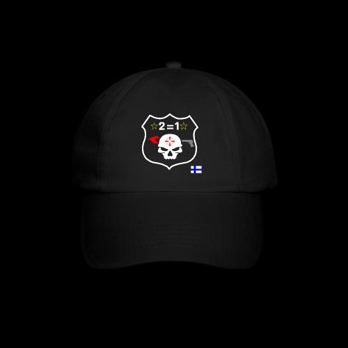Paita logo selkä PAREMPI MUSTA png - Lippalakki