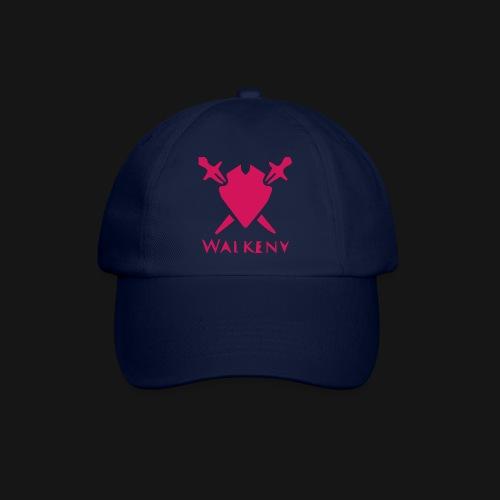 Das Walkeny Logo mit dem Schwert in PINK! - Baseballkappe