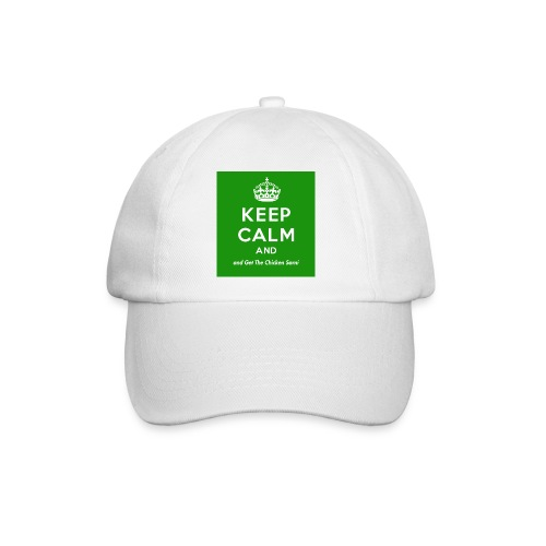 Keep Calm and Get The Chicken Sarni - Green - Baseball Cap