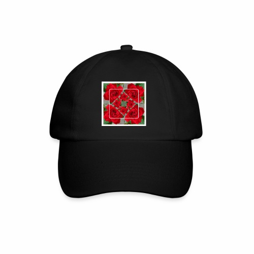 Rose Design - Baseballkappe
