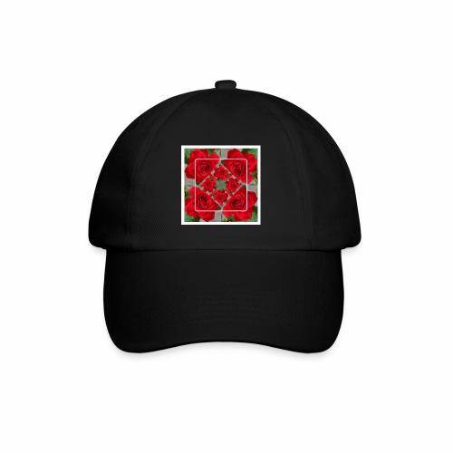 Rose Design - Baseballkappe