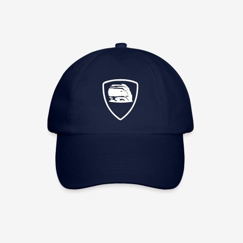 badge helmet team white - Casquette classique