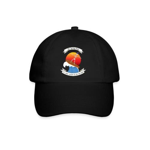 Skeleton surfing on coffin lid - Cappello con visiera