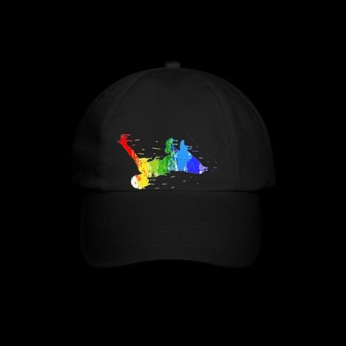 jump design paint - Baseball Cap