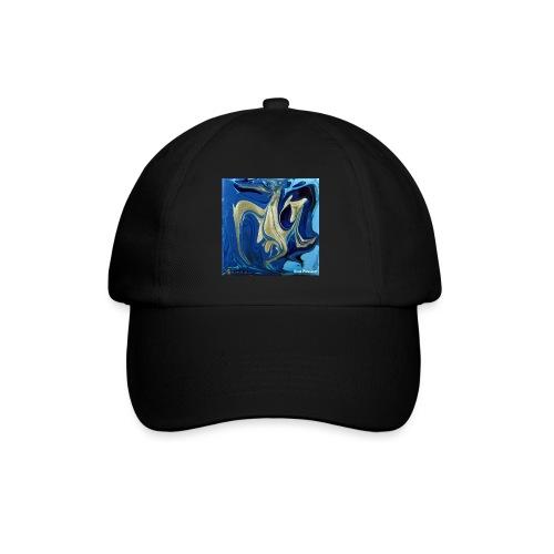 TIAN GREEN Welt Mosaik - AT042 Blue Passion - Baseballkappe