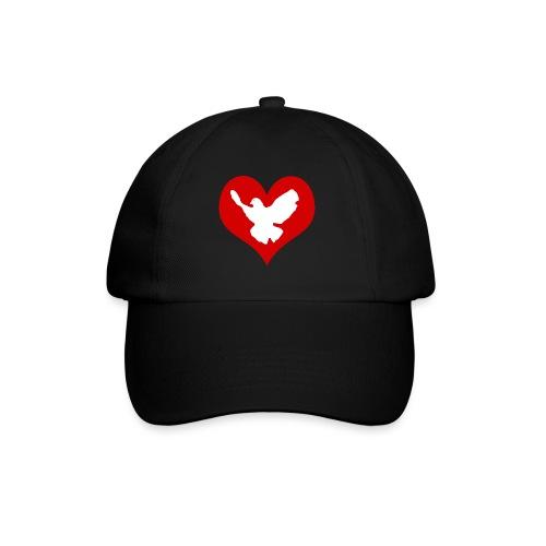 Peace & Love - Baseballkappe