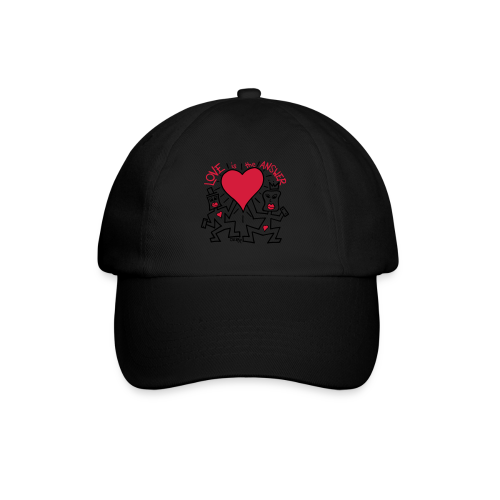 Love is the Answer by Oliver Schibli - Baseball Cap