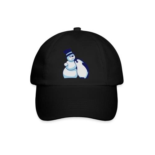 Schneemann und Pinguin - Baseballkappe