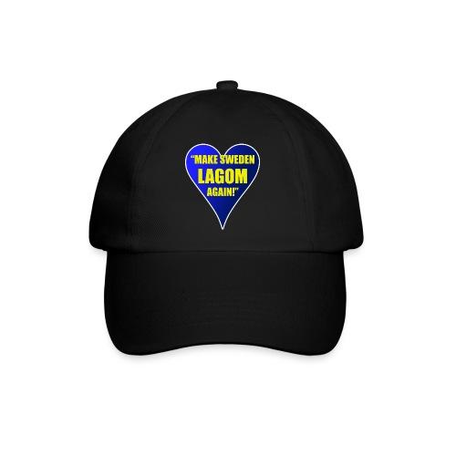 Make Sweden Lagom Again - Basebollkeps