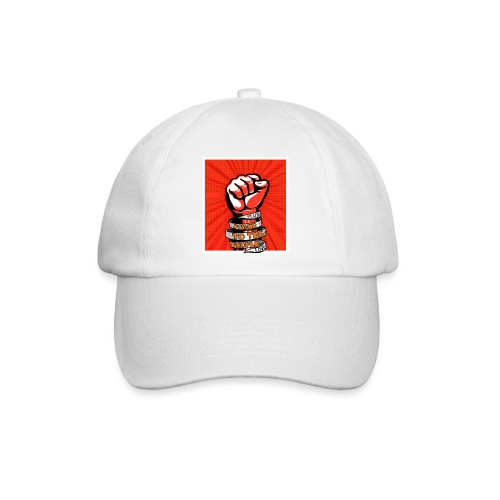 Power to the people - with peace and love protest - Baseball Cap