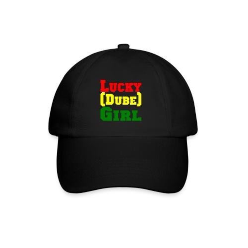 lucky dubes girl png - Baseball Cap