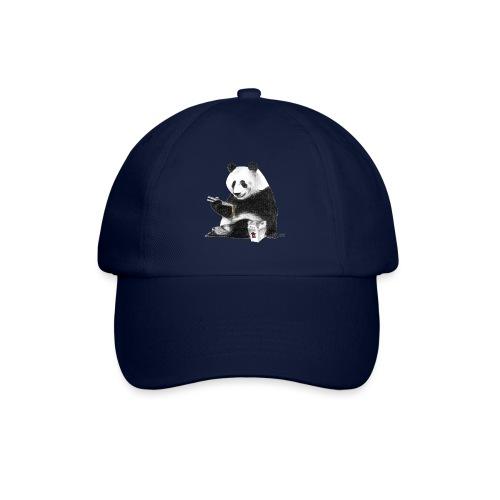 Panda Eating Noodles - Baseball Cap