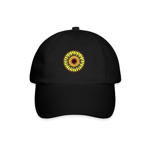 Yellow Sunflower Mandala - Baseball Cap