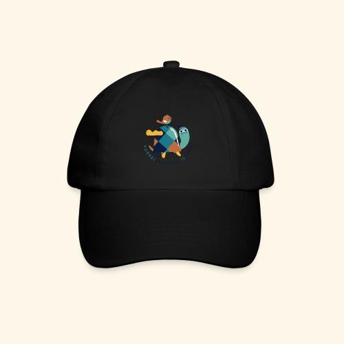 Tartaruga e uccellino - Cappello con visiera