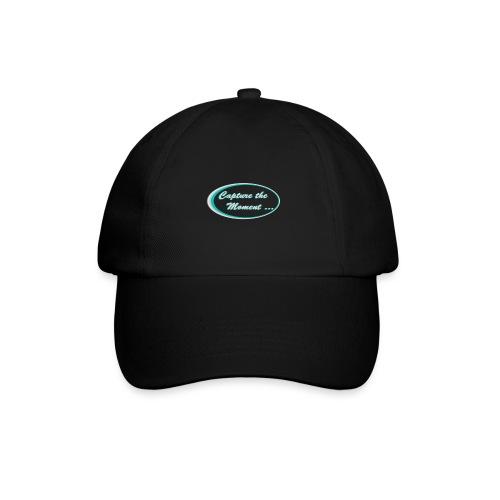 Logo capture the moment photography slogan - Baseball Cap
