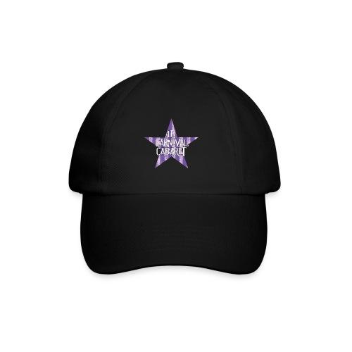 bonnet LCC noir etoie violette - Baseball Cap