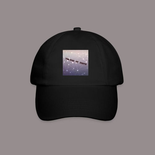 The duo of death logo - Baseballcap